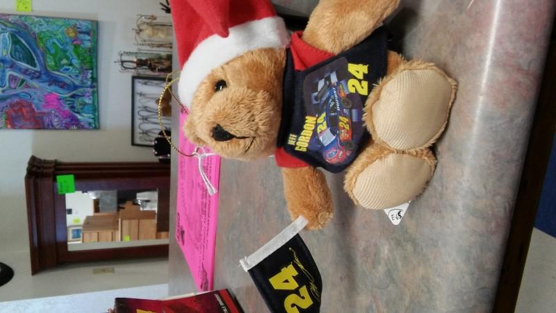 JEFF GORDON Sports Memorabilia TEDDY BEAR