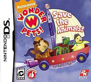 NINTENDO Nintendo DS Game WONDER PETS SAVE THE ANIMALS DS