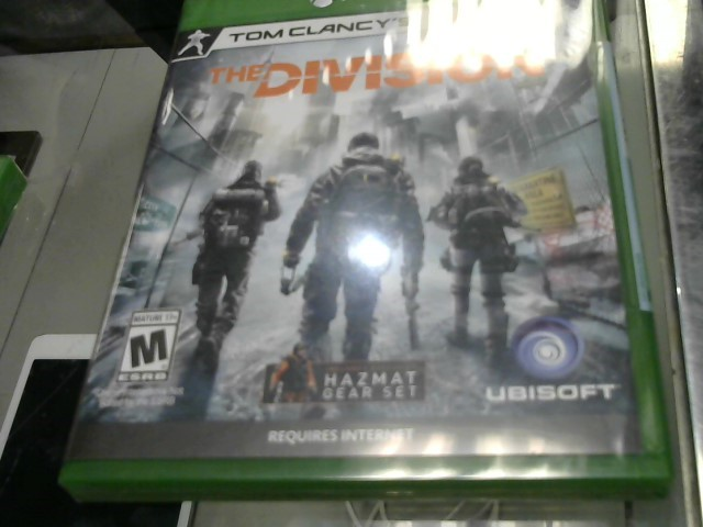 UBISOFT Microsoft XBOX One Game TOM CLANCY THE DIVISION