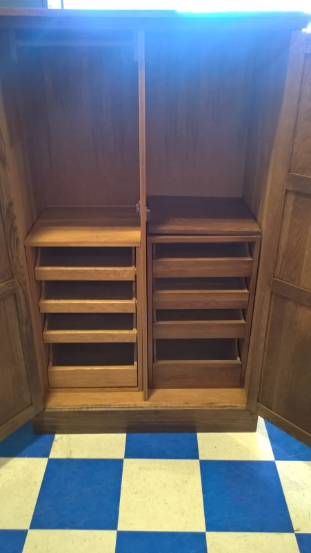 A. BRANDT FURNITURE Armoire WARDROBE