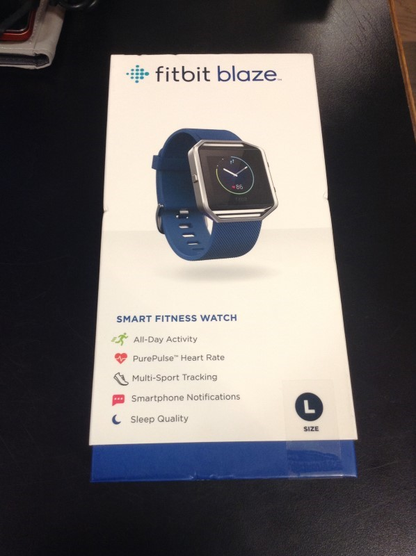 FITBIT Gent's Wristwatch BLAZE SMART FITNESS WATCH