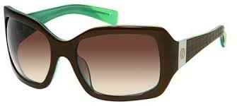 TRES NOIR FEMME FATALE Sunglasses brown/green 020