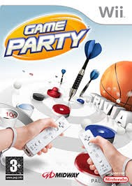 MIDWAY Nintendo Wii Game GAME PARTY