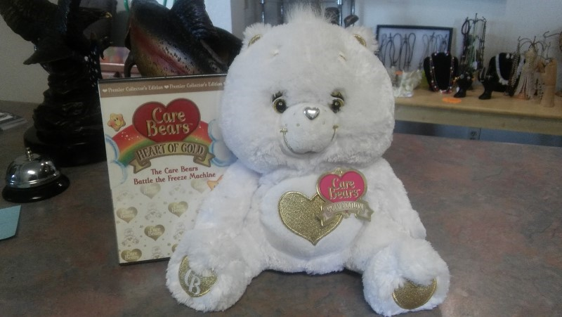 CARE BEARS Stuffed Animal CARE BEARS GOLD ADDITION
