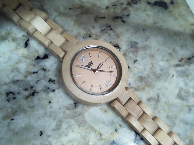 WEWOOD Lady's Wristwatch MIMOSA BEIGE