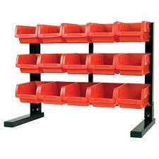 PERFORMANCE TOOL Tool Storage Box TABLE TOP STORAGE BIN RACK