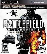 SONY Sony PlayStation 3 Game BATTLEFIELD BAD COMPANY 2 ULTIMATE EDITION