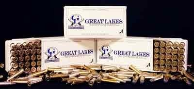 GREAT LAKES FIREARMS AND AMMUNITION Ammunition 9MM LUGER 115 GRAIN