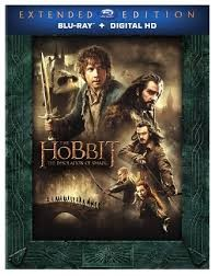 BLU-RAY MOVIE Blu-Ray THE HOBBIT THE DESOLATION OF SMAUG - EXTENDED ED.
