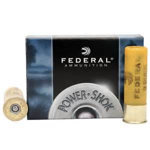 "FEDERAL AMMUNITION Ammunition 20 GA 2 3/4"" #3 BUCKSHOT"