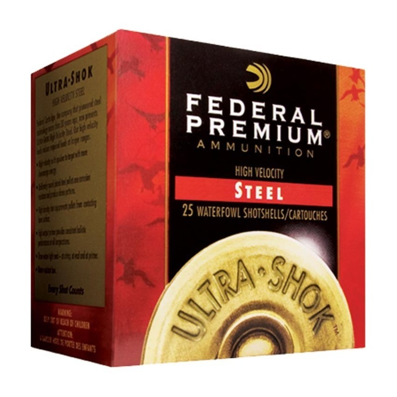 "FEDERAL AMMUNITION Ammunition WATERFOWL LOAD 12GA. 3"" 2 #2 SHOT"