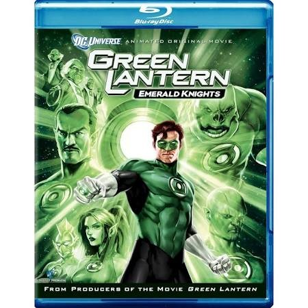 BLU-RAY MOVIE Blu-Ray GREEN LANTERN EMERALD KNIGHTS