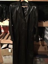 RZR Coat/Jacket BLACK LEATHER COAT
