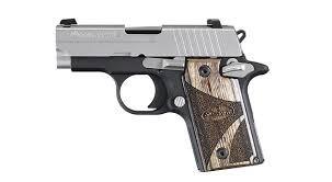 SIG SAUER Pistol P238 BLACK WOOD