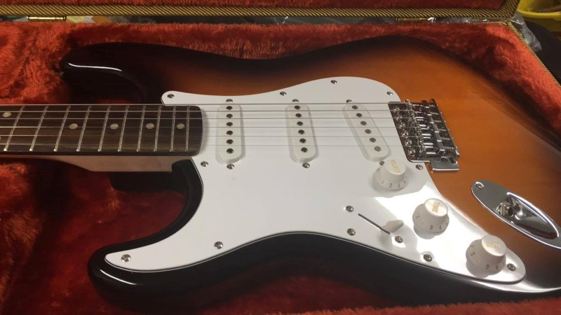 FENDER Electric Guitar STRATOCASTER AFN