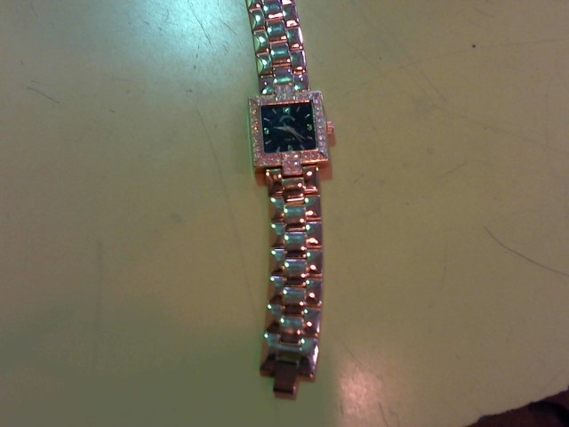 ADRIENNE Lady's Wristwatch GOLD PLATED WATCH