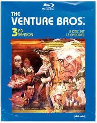 BLU-RAY MOVIE Blu-Ray THE VENTURE BROS.