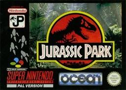NINTENDO Vintage Game JURASSIC PARK