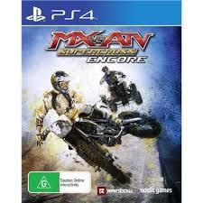 SONY Sony PlayStation 4 Game PS4 MX VS ATV SUPERCROSS ENCORE