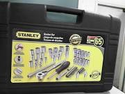 STANLEY Sockets/Ratchet SOCKET SET 65PCS