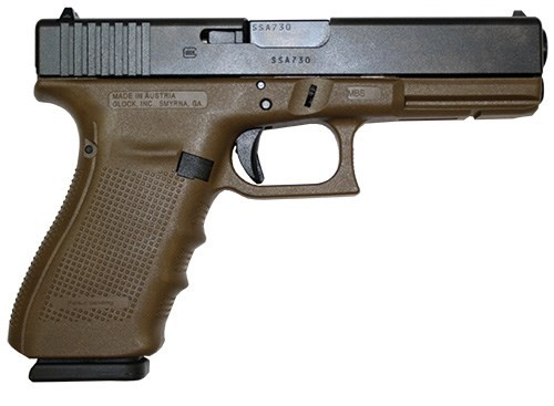GLOCK Pistol G21 GEN4 DARK EARTH