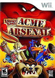 NINTENDO Nintendo Wii Game LOONEY TUNES ACME ARSENAL