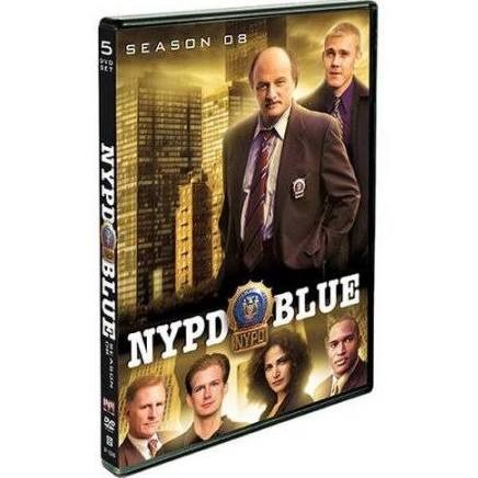 DVD BOX SET DVD NYPD BLUE SEASON 8