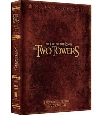 DVD BOX SET DVD THE LORD OF TTHE RINGS THE TWO TOWERS SPECIAL