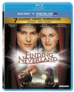 Blu-ray Movie Finding Neverland Blu-ray + Digital HD Ultraviolet