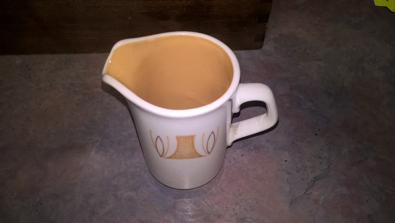 STONEWARE POURING CUP