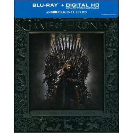 HBO Blu-Ray GAME OF THRONES SEASON ONE BLU RAY