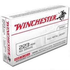 WINCHESTER Ammunition 223 REM 62 GR FMJ