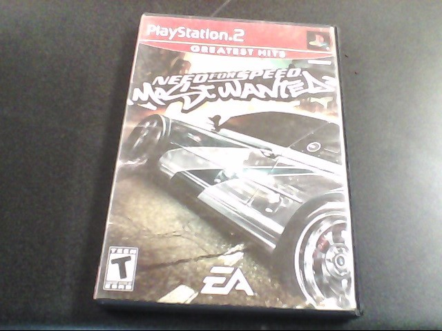 SONY Sony PlayStation 2 Game NEED FOR SPEED MOST WANTED PS2