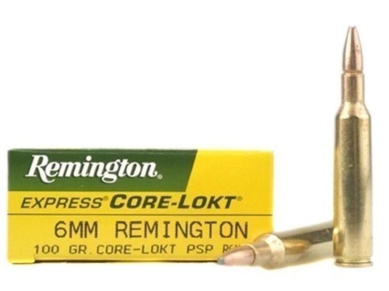 REMINGTON FIREARMS & AMMUNITION Ammunition CORE-LOKT 6MM