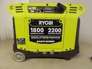 RYOBI Generator 2200 WATT INVERTER GENERATOR