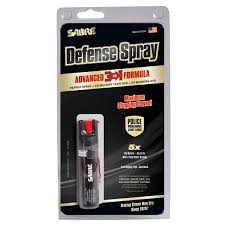 SABRE DEFENSE INDUSTRIES Mace/Pepper Spray ADVANCED 3IN1 PEPPER SPRAY