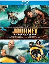 BLU-RAY MOVIE Blu-Ray JOURNEY DOUBLE FEATURE JOURNEY AND JOURNEY 2