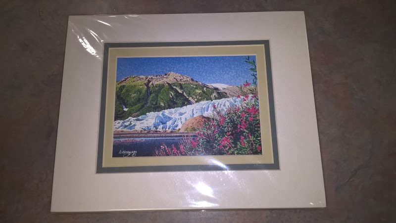 "GAIL NIEBRUGGE Print ""FIRE AND ICE"" PRINT"