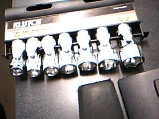 KLUTCH Sockets/Ratchet 41344