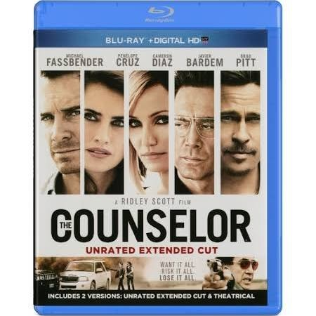 BLU-RAY MOVIE Blu-Ray THE COUNSELOR