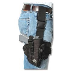 ROTHCO Holster DELUXE ADJUSTABLE DROP LEG TACTICAL HOLSTER