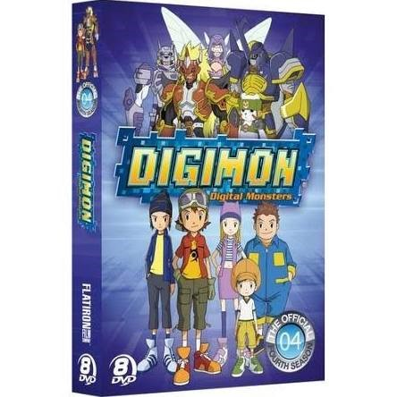 DVD BOX SET DVD DIGIMON SEASON 4