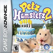 NINTENDO Nintendo GBA Game PETS HAMSTERS LIFE 2