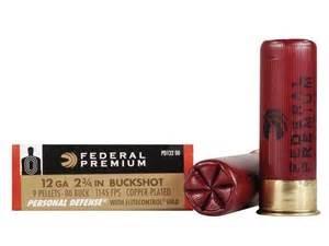 "FEDERAL AMMUNITION Ammunition 20 GA 2 3/4"" #4 BUCKSHOT"