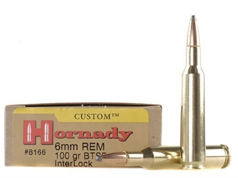 HORNADY Ammunition CUSTOM 6MM REM