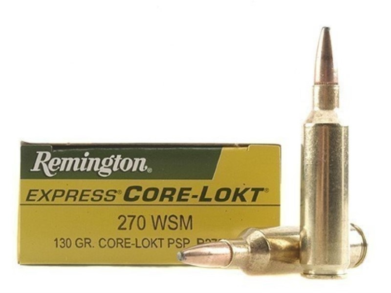 REMINGTON FIREARMS Ammunition CORE-LOCKT 270 WSM