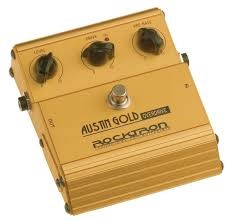ROCKTRON Musical Instruments Part/Accessory AUSTIN GOLD OVERDRIVE