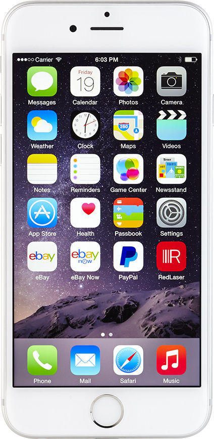 APPLE Cell Phone/Smart Phone IPHONE 6 MG6A2LL/A