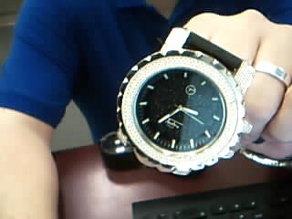 TECHNO PAVE Gent's Wristwatch 7269