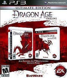 SONY Sony PlayStation 3 Game DRAGON AGE ORIGINS - ULTIMATE EDITION